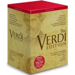 Verdi: 12 Great Operas [José Cura, Renée Flemming, Joseph Calleja, Plácido Domingo] [Opus Arte : OA1105BD] [DVD] [NTSC]